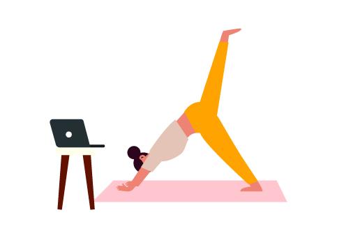 Clase de slim yoga
